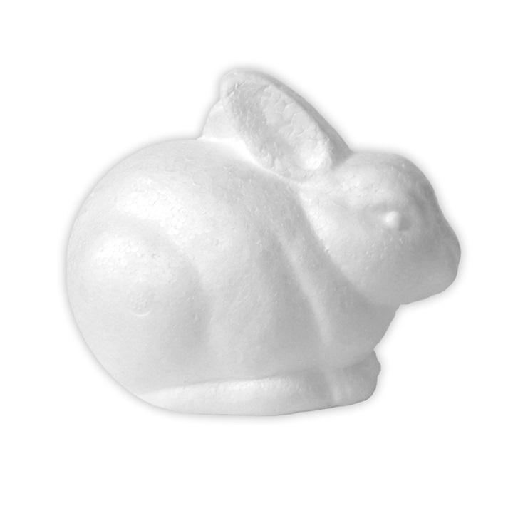 Polystyrénový zajac 14 cm