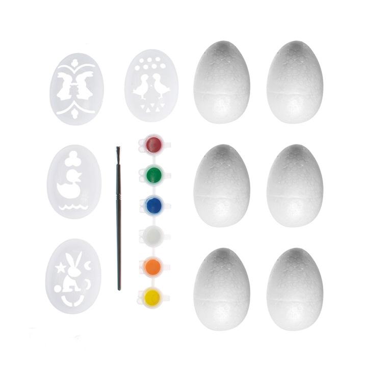 Kreatívna sada na maľovanie vajíčok / 17 dielna