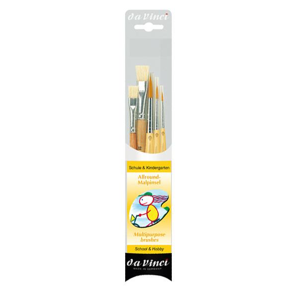 Sada štetcov da Vinci JUNIOR 4211 pre školy a hobby - 5 ks