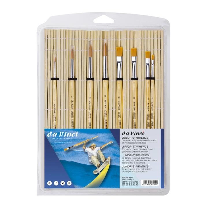 Sada štetcov da Vinci JUNIOR 5371 pre školy a hobby - 8 ks