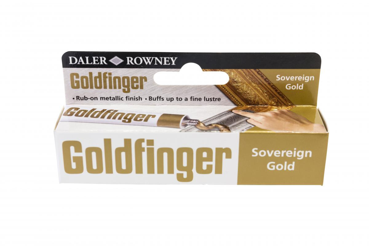 Daler - Rowney. Goldfinger - sovereing gold