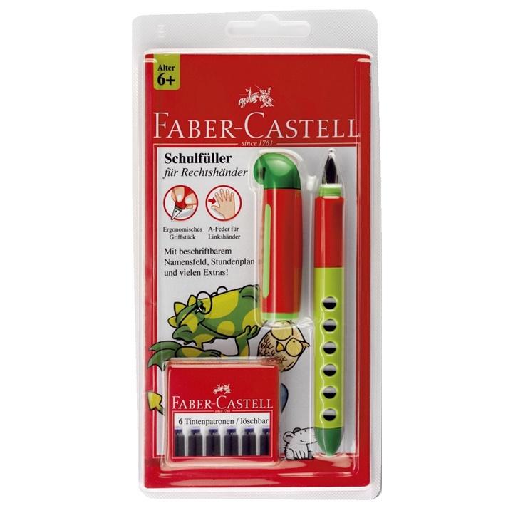 Plniace pero Faber-Castell s ergonomickým úchopom pre praváka