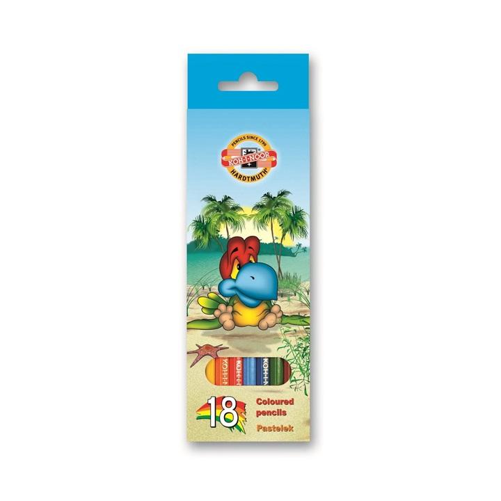 Farebné ceruzky KOH-I-NOOR 18 ks