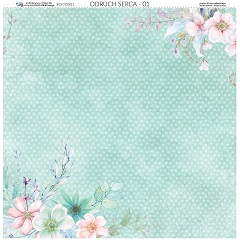 Obojstranný papier na scrapbooking 30.5 x 30.5 cm – Hearts Tingle 01