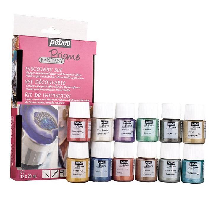 Efektová farba Fantasy Prisme Discovery set / 12 x 20 ml