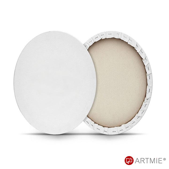 Ovalno slikarsko platno na okviru