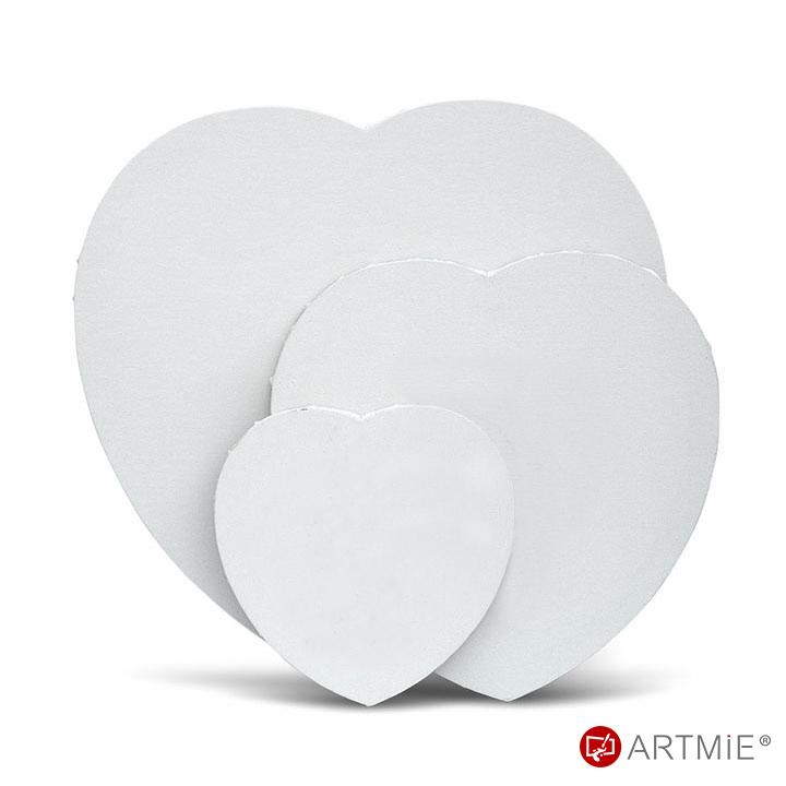 Slikarsko platno na okviru Srce