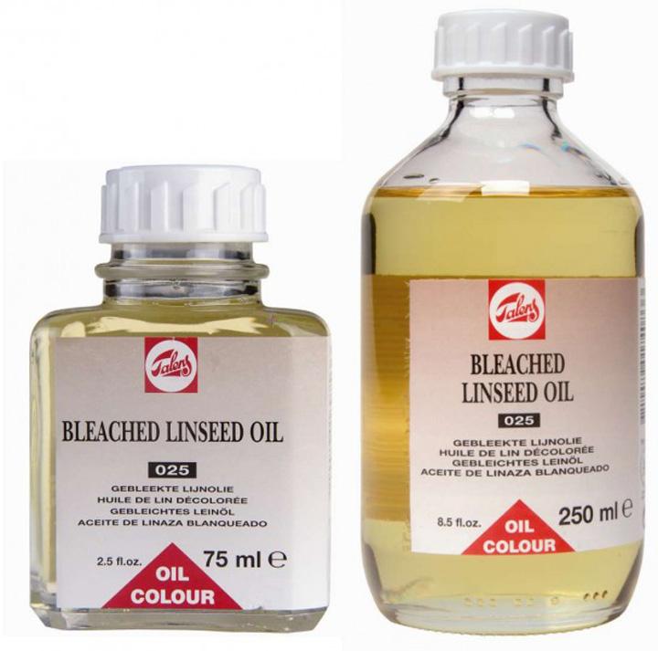 Ľanový olej bielený TALENS 75 ml (umelecké potreby Royal Talens)