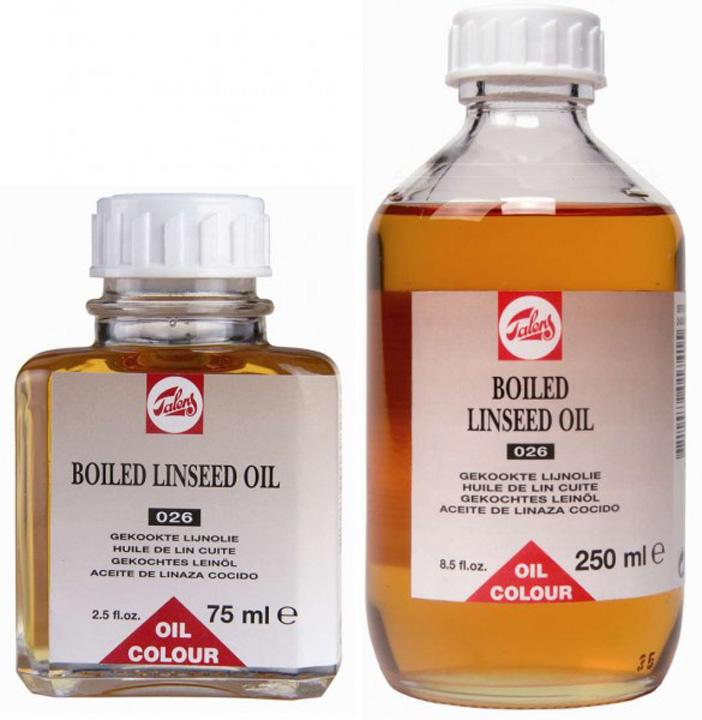 Ľanový olej BOILED TALENS 75ml (umelecké potreby Royal Talens)