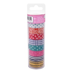 Washi páska Craft Sensations - 8 ks