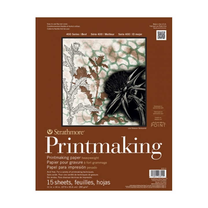 Blok Strathmore Printmaking 20 listový - 20.3 x 25.4 cm