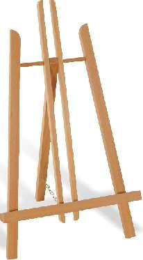 Maliarsky stojan stolový - 213 CAPRI (maliarske stojany ARTMIE)