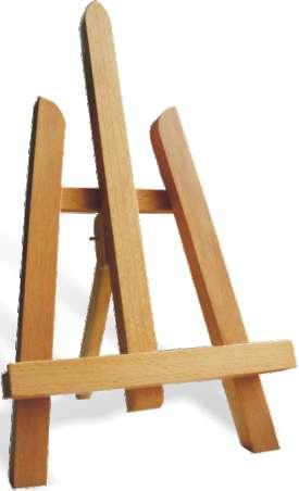 Maliarsky stojan stolový - 211 MINI (maliarske stojany ARTMIE)