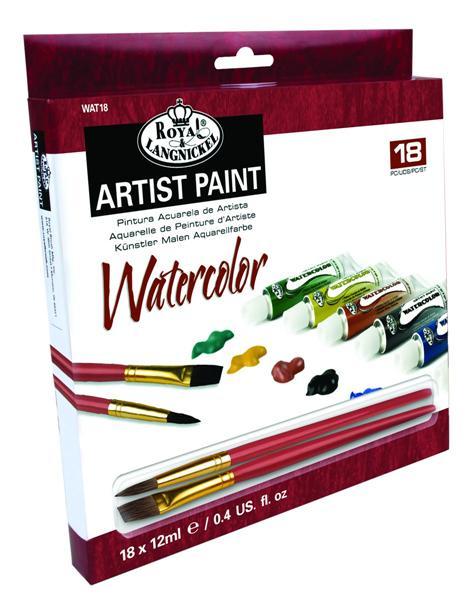 Akvarelové farby ARTIST Paint 24x12ml (maliarsky set Royal & Langnickel)