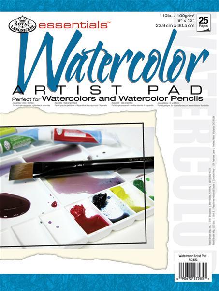 Blok papierov [akvarel] Royal & Langnickel ARTIST PAD / 25 ks (papiere na maľovanie Royal & Langnickel)