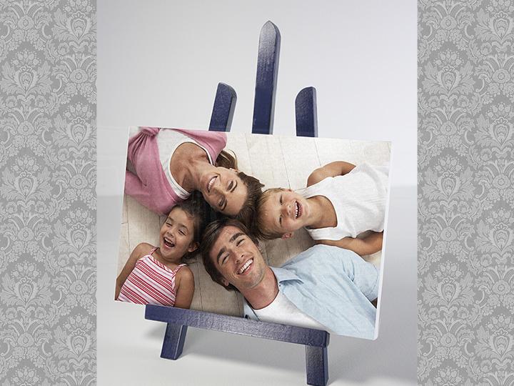 Image of Obraz z fotografie na stojane - rôzne farby / zľava 15% (Fotoobraz na stole)