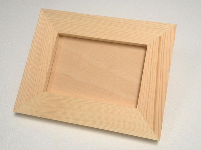 Drevený fotorámik malý 18 x 23 cm (drevené polotovary na dekupáž)