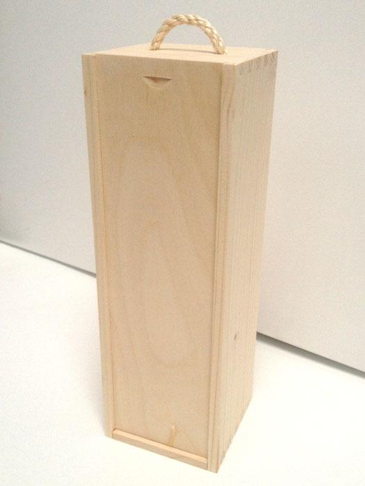 Drevená kazeta na víno (drevené polotovary na dekupáž)