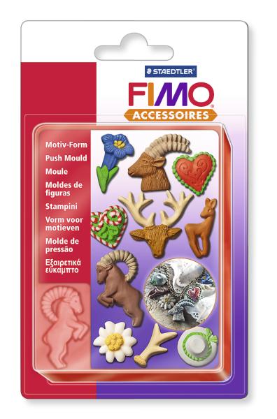 Vytláčacia forma FIMO - Alpské motívy (kreatívne potreby)