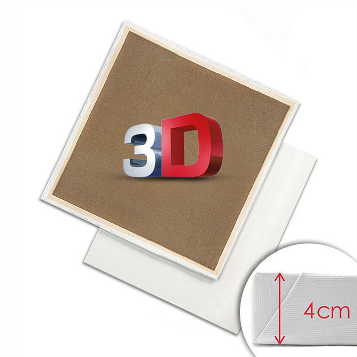 Image of 3D Maliarske plátno na ráme PROFI / Rôzne rozmery (maliarske plátna 3D)