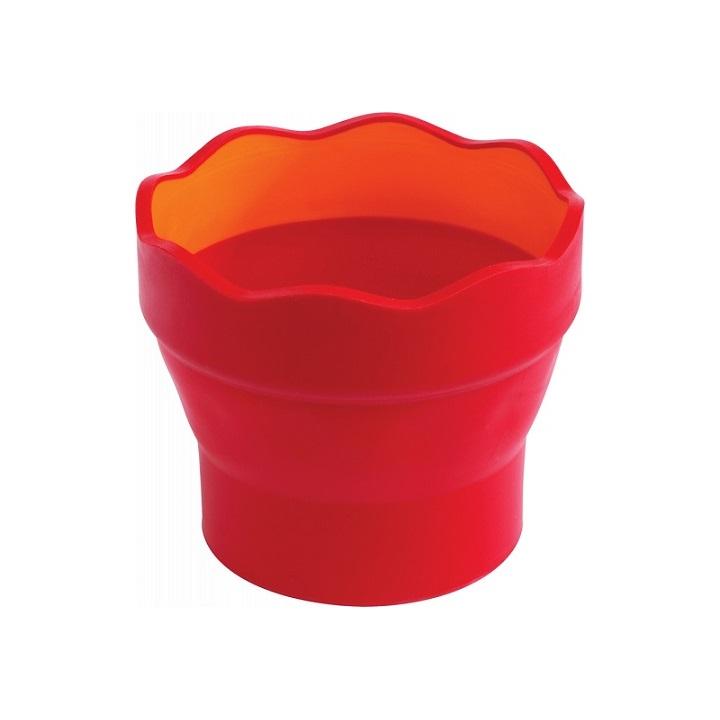 Pohár na vodu Klik červený (Faber Castel - Pohár na vodu)