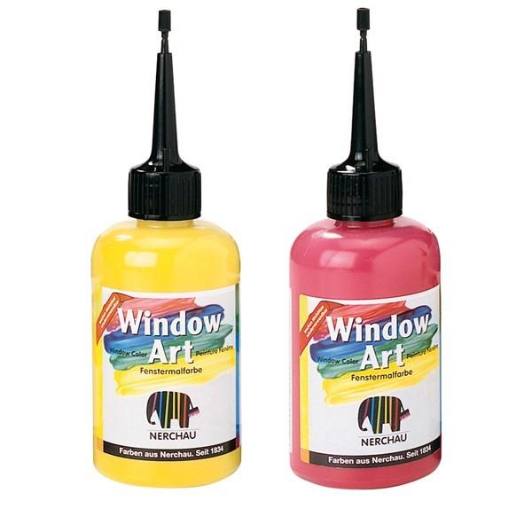 Farby na sklo Window Art 80ml / rôzne odtiene (Farba na sklo Nerchau)