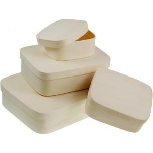 Obdĺžnikový box z preglejky / rôzne rozmery (drevené polotovary na dekupáž)