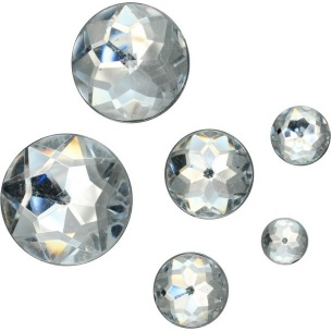 Akrylové diamanty / rôzne balenia (dekoračné diamanty)