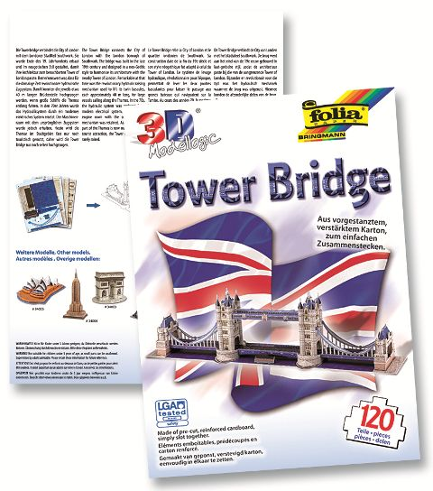 Image of 3D-Model Tower Bridge 120 dielov