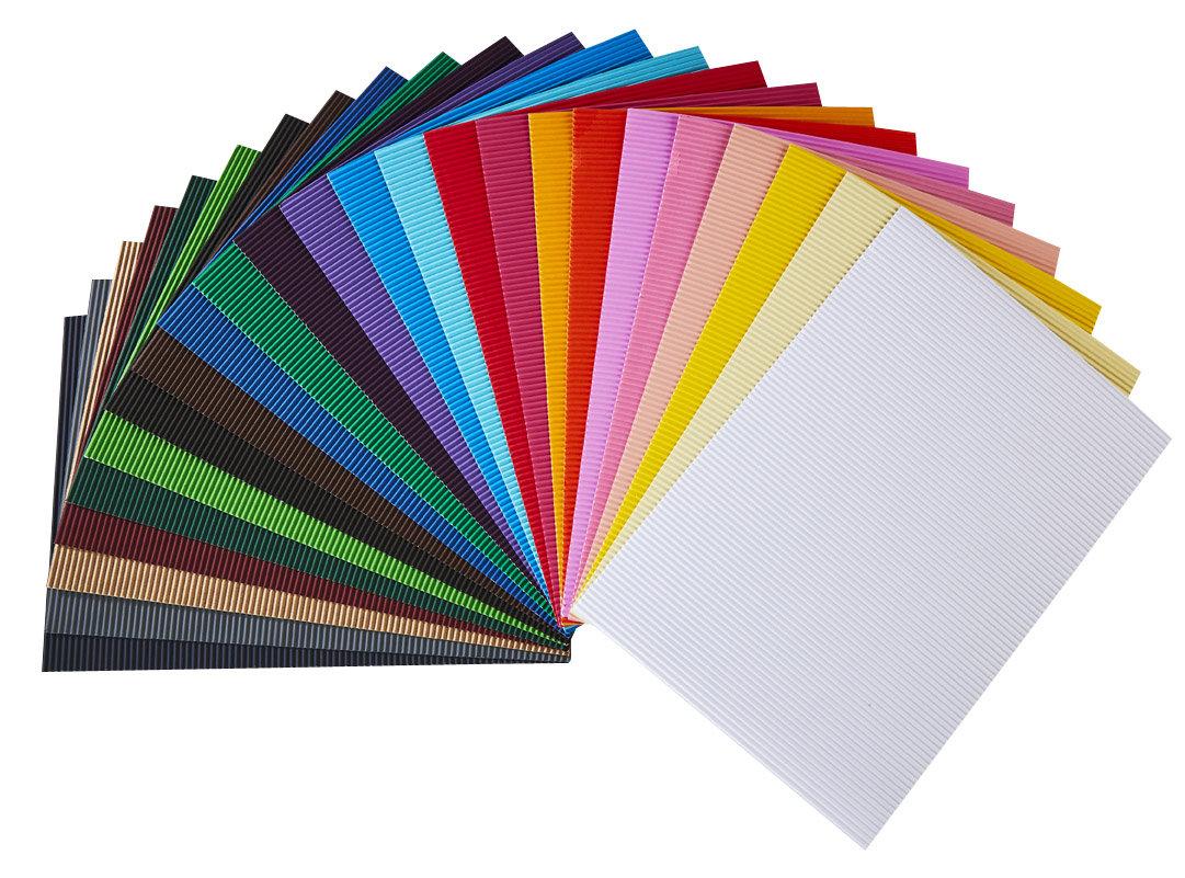 72e7f8b89 Vlnitý papier 50x70cm / rôzne farby