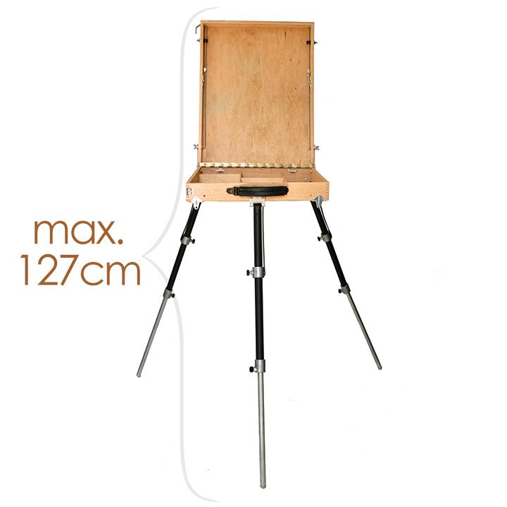 Profesionálny maliarsky stojan poľný - MEDIUM VALERIANO BOX
