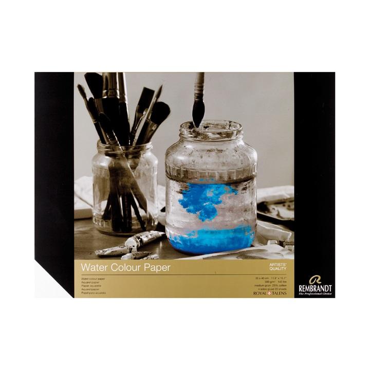 Výtvarný blok pre akvarelové farby rembrandt / 20 listov