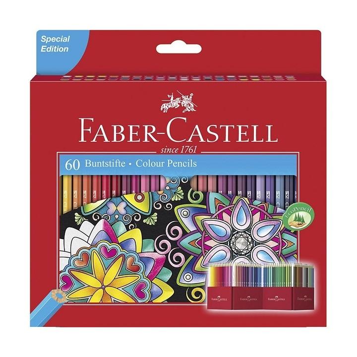 Farebné ceruzky Castell set Special Edition / 60 farebné