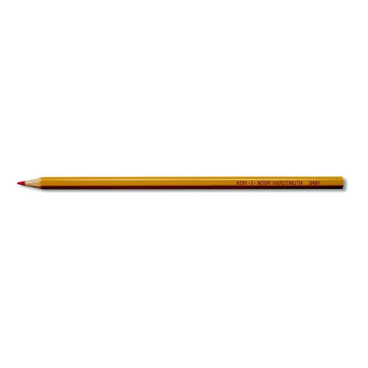 Ceruzka kancelárska červená 3431 / 1 kus