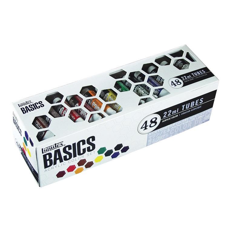Sada akrylových farieb Liquitex Basics / 48x22 ml