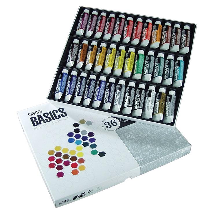 Sada akrylových farieb Liquitex Basics / 36x22 ml