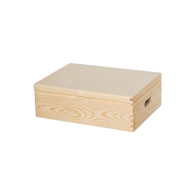 Drevená krabica na dekorovanie 30x40x13.5 cm