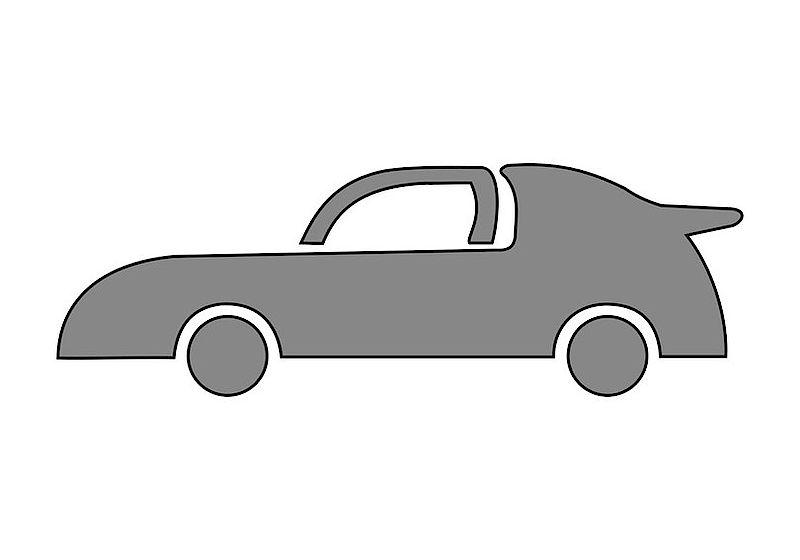 Dizajnová šablóna pre deti Kreul - Auto