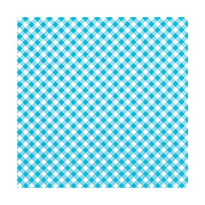 Servítky na dekupáž – Modrobiele kocky – 1 ks