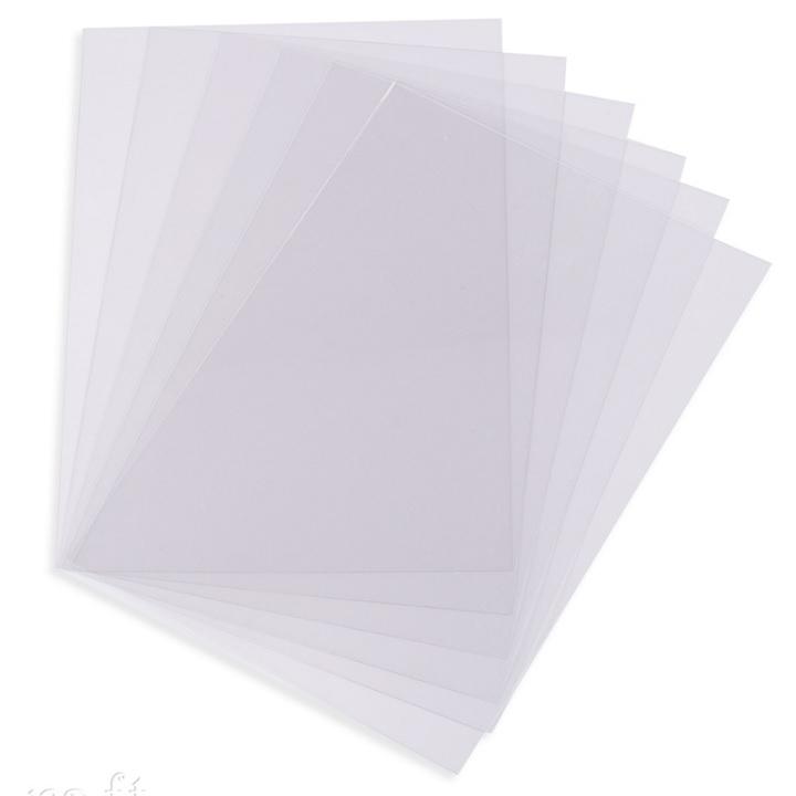 Zmršťovacia fólia transparentná / 6 ks