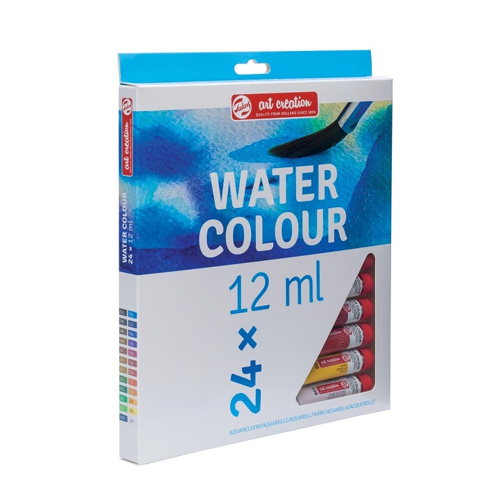 Akvarelové farby art creation / sada 24 x 12 ml