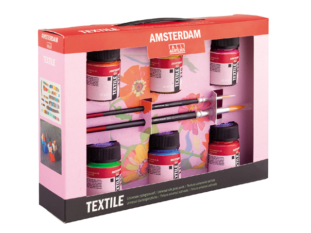 Farby na textil Decorfin Textile SET (farby na textil Royal Talens)