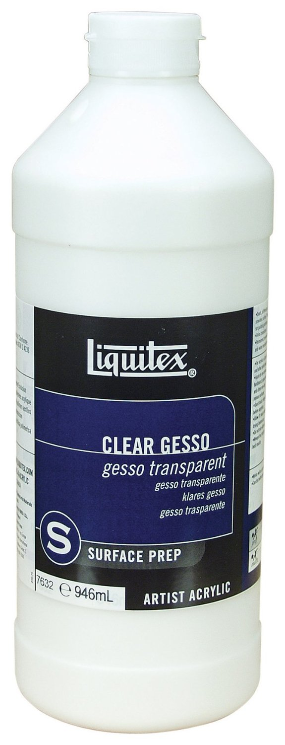 Transparentný šeps GESSO transparent - 946 ml