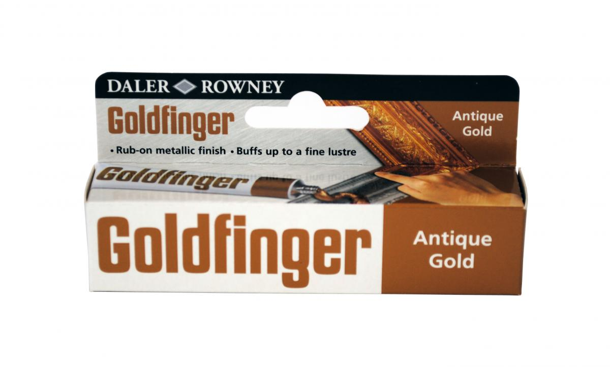 DR goldfinger antikovacia pasta - antique gold