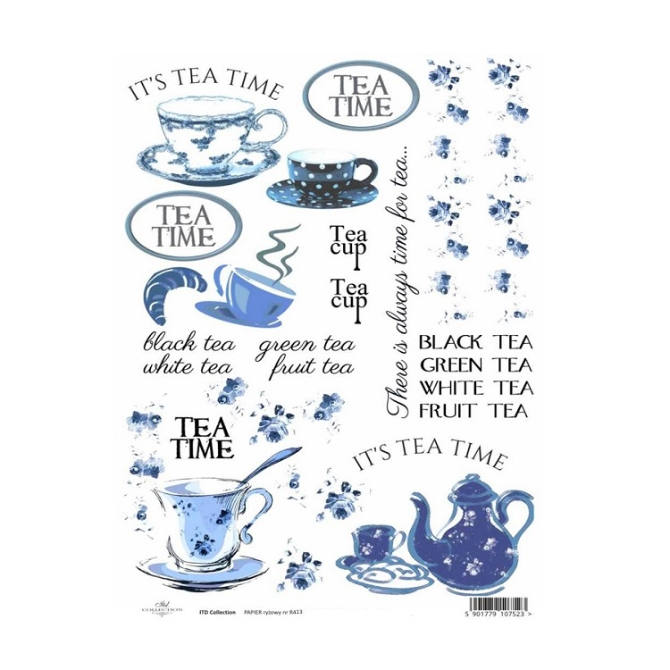Ryžový papier A4 ITD – tea time
