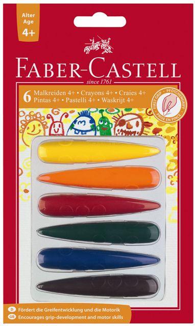Pastelky plastové do dlane (Faber Castel - Pastelky plastové)