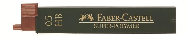 Tuhy grafitové superpolymer 0.5 mm - vyberte (Faber Castel - Tuhy do mechanickej ceruzky)
